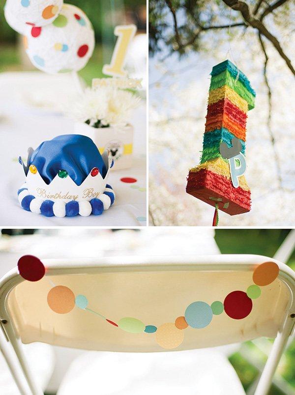 rainbow piñata
