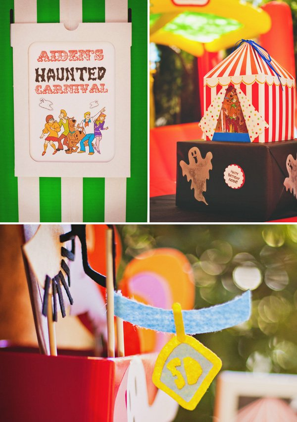haunted carnival party