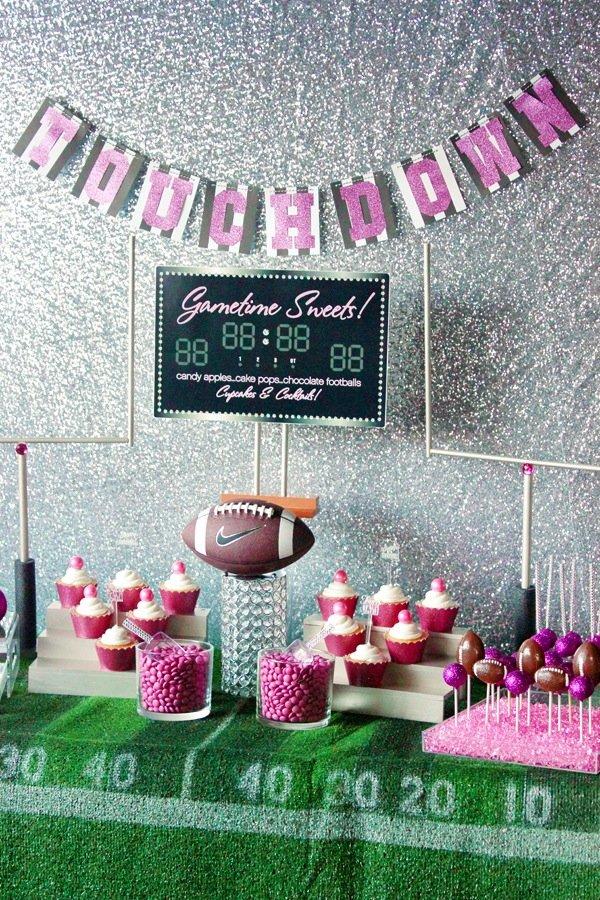 Football-Sweets-Table