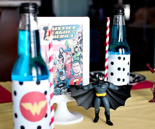 batman toy party decor