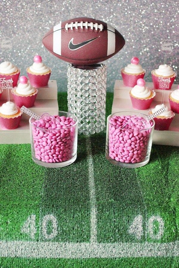 football-bling-table