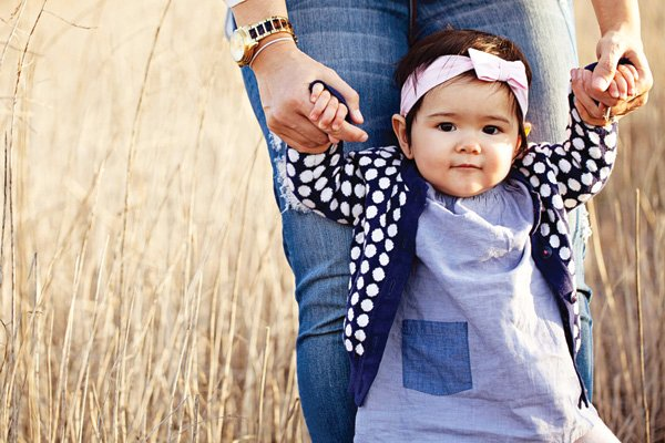 one year old girl's cute outfit