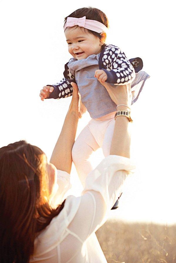 playful first birthday baby photoshoot