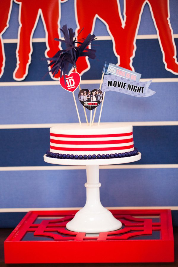 1d party cake