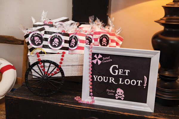 pirate party loot favors