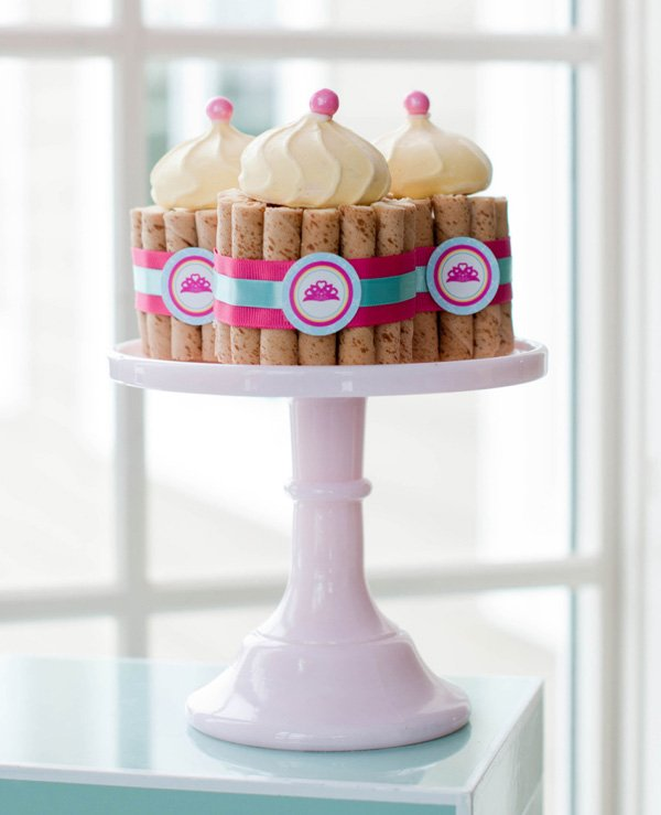 princess castle cookies