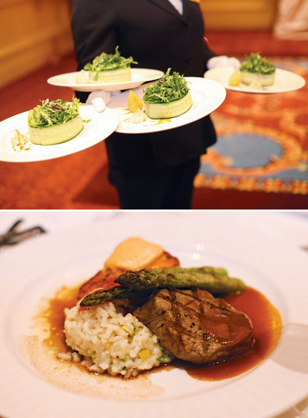 formal dinner party food and menu ideas