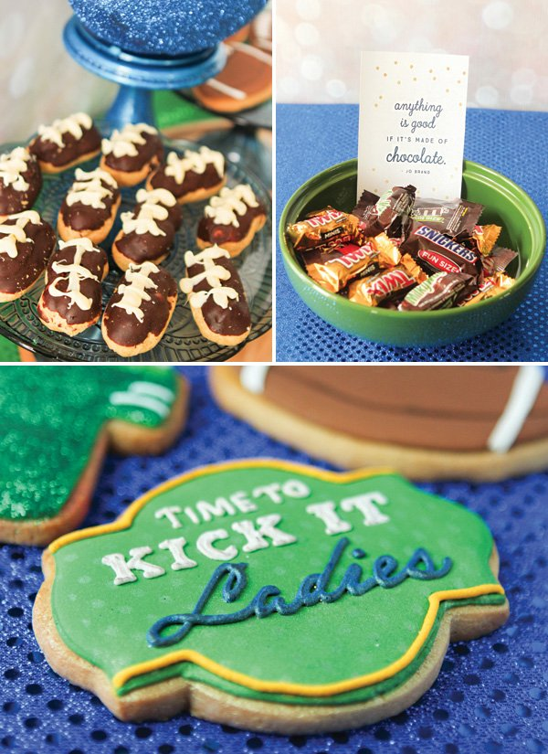 football party dessert ideas