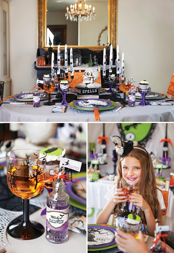 halloween party tablescape ideas