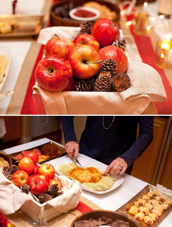 apple-pinecone-holiday-centerpiece
