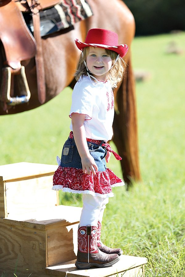 cowgirl birthday party outfit