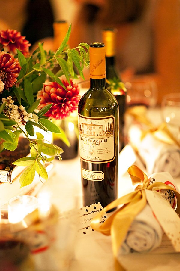 italian cooking and wine party