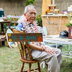 vintage hawaiian luau birthday party