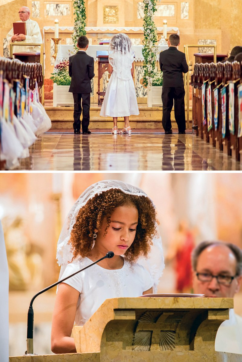 first communion ceremony