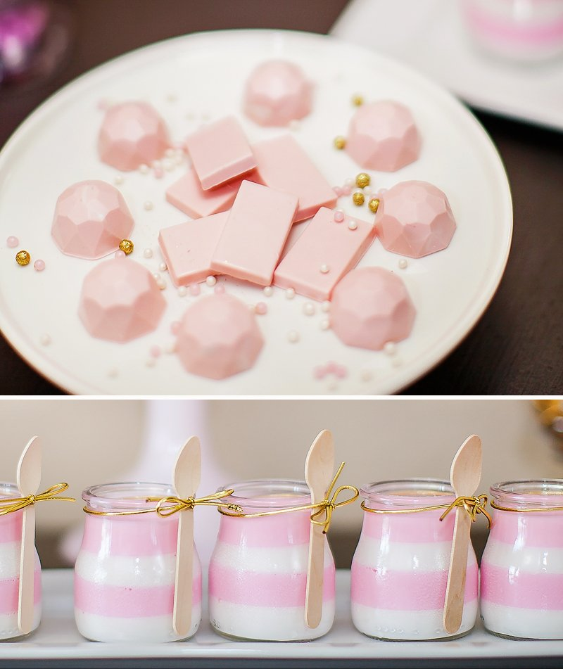 pink and gold party