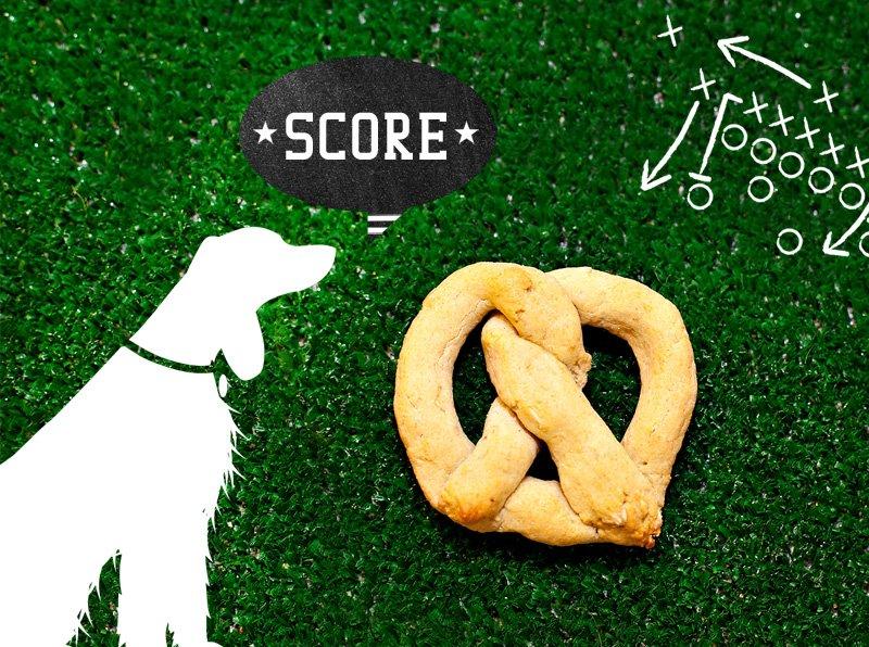 homemade pretzel dog treats