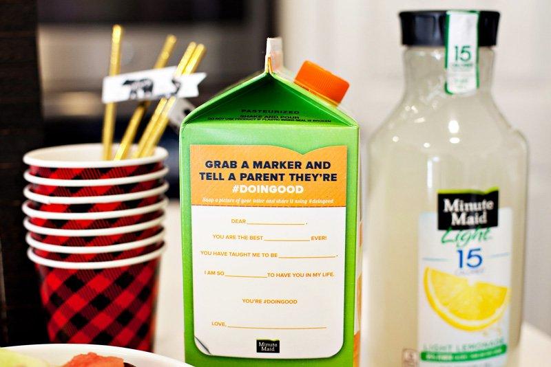 Minute Maid #doingood Orange Juice