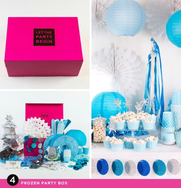 Frozen Party in a Box - Eden Celebrations