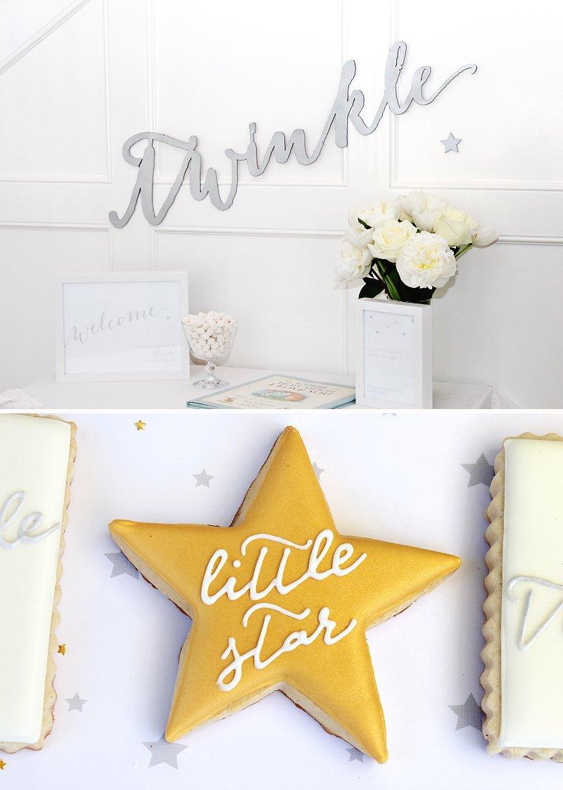 twinkle sprinkle baby shower