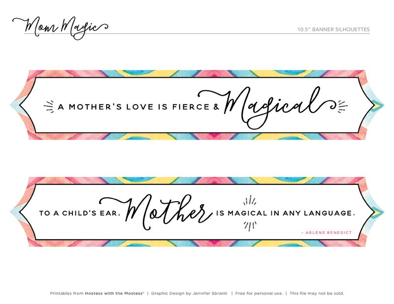 Mom Magic Printables from HWTM - Mom Quotes