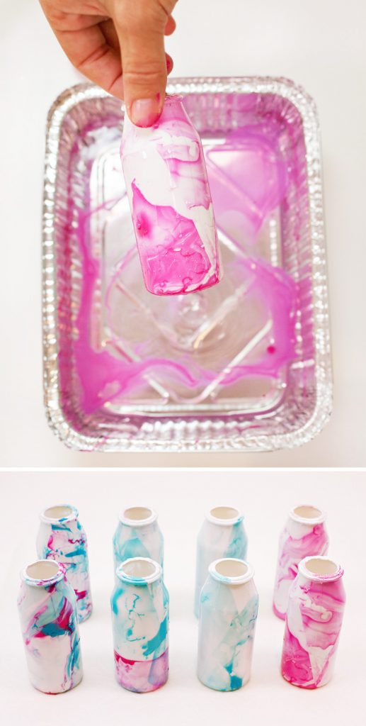 Marbled Baby Bottle