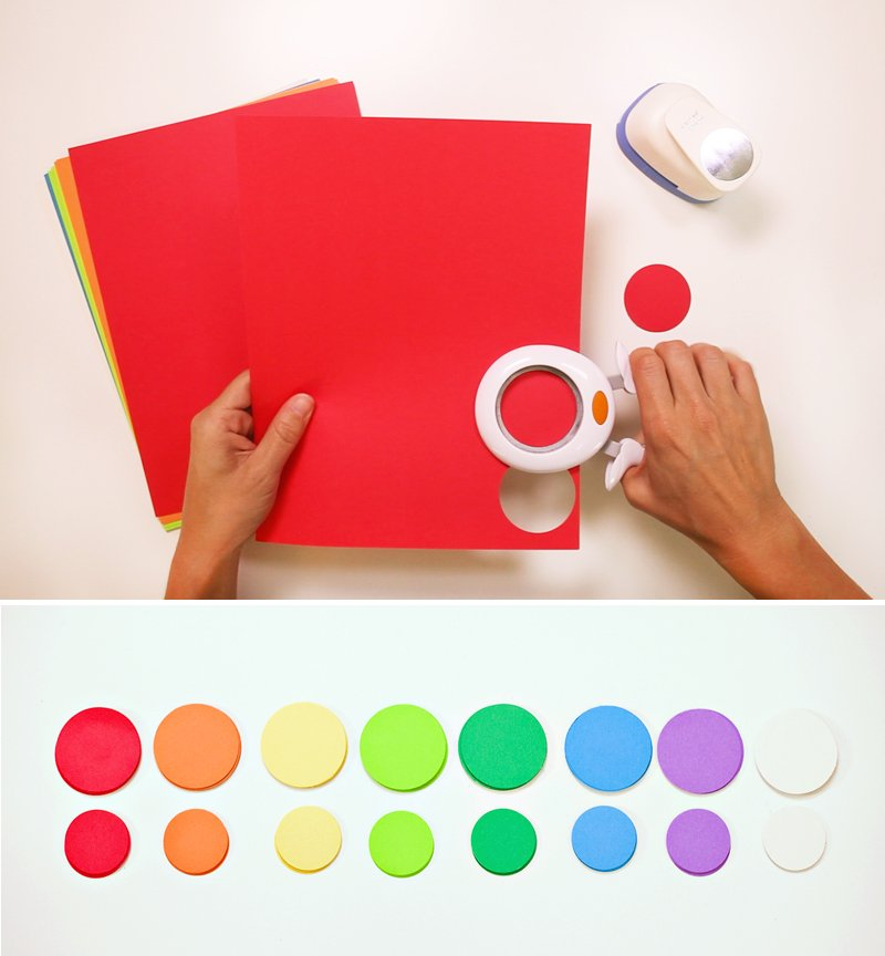 Rainbow Balloon Tassels DIY - 1