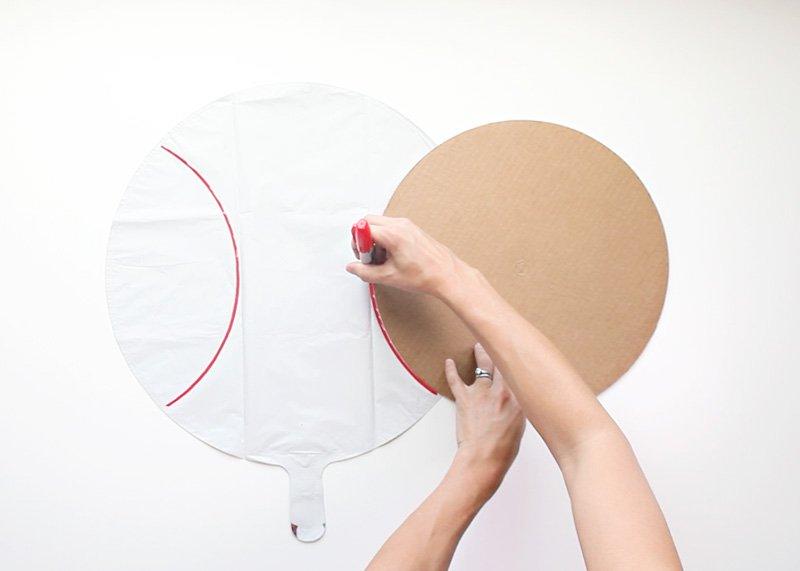 DIY Baseball Balloons 1