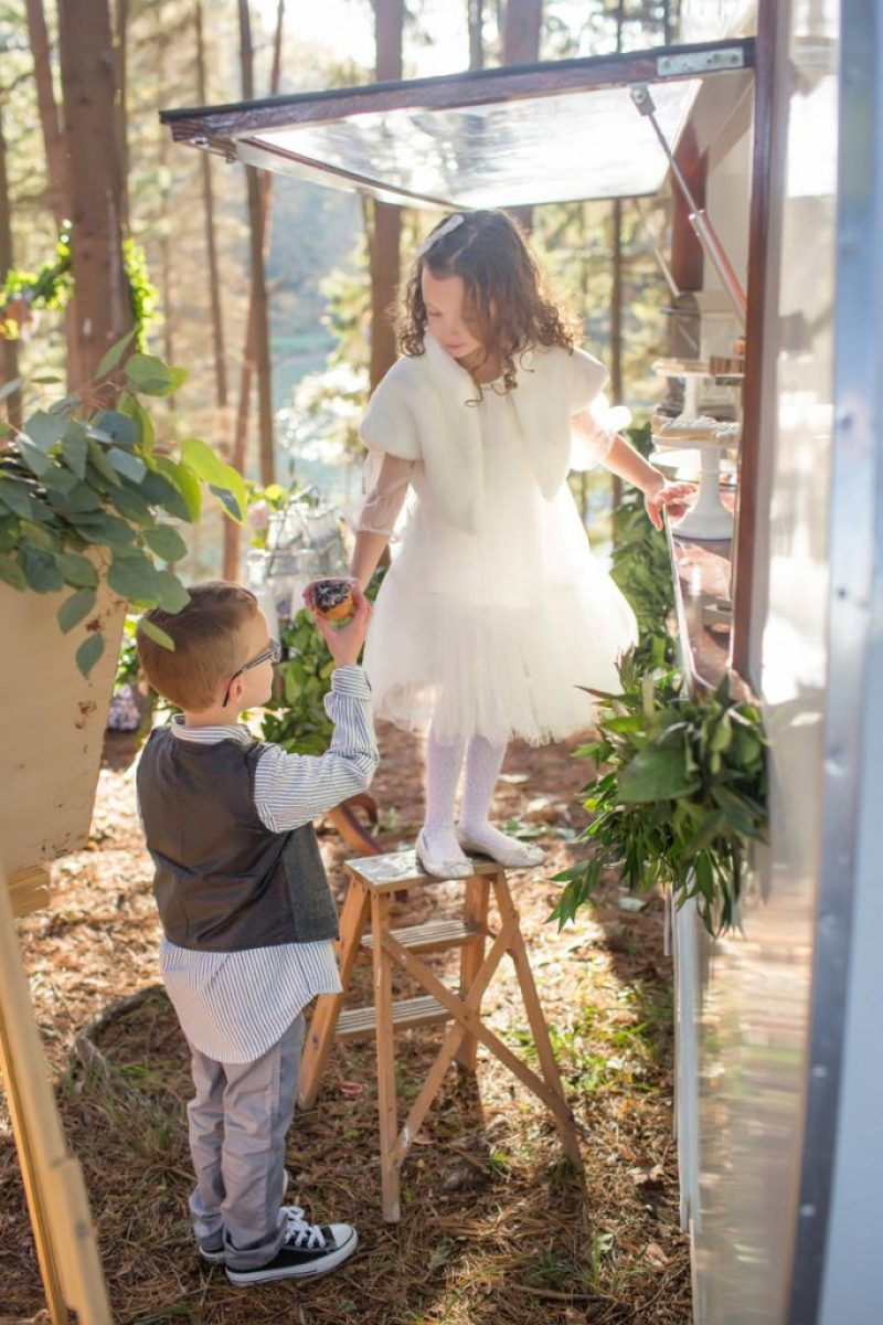 Fancy Vintage Christmas Party Outfits - Kids