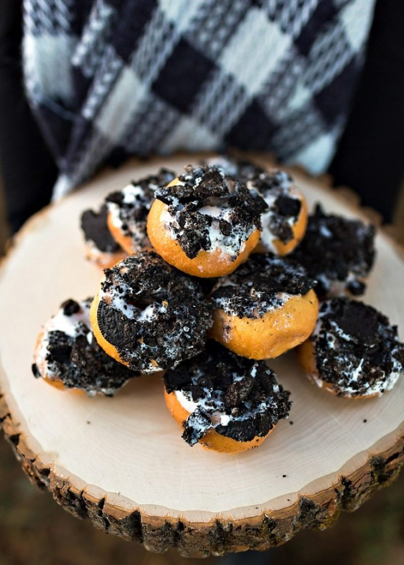 Oreo Cookie Donuts
