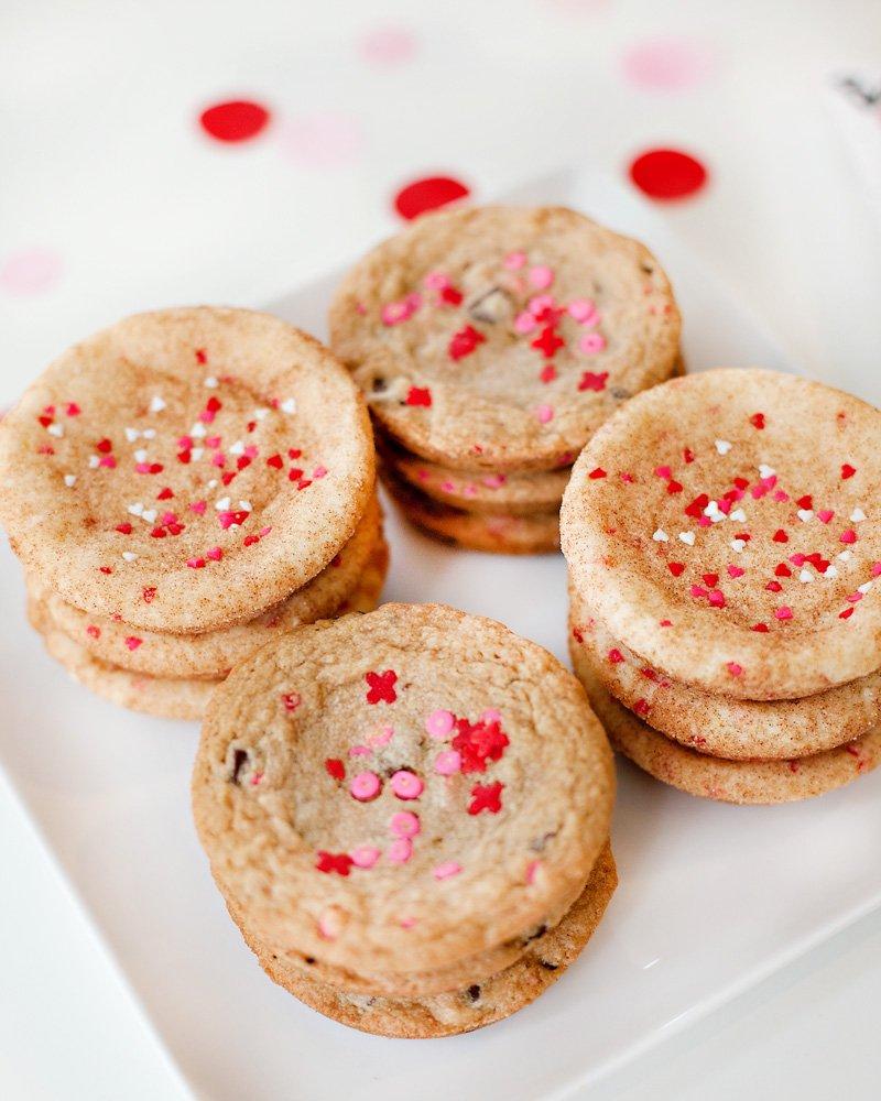 big valentine's day cookies