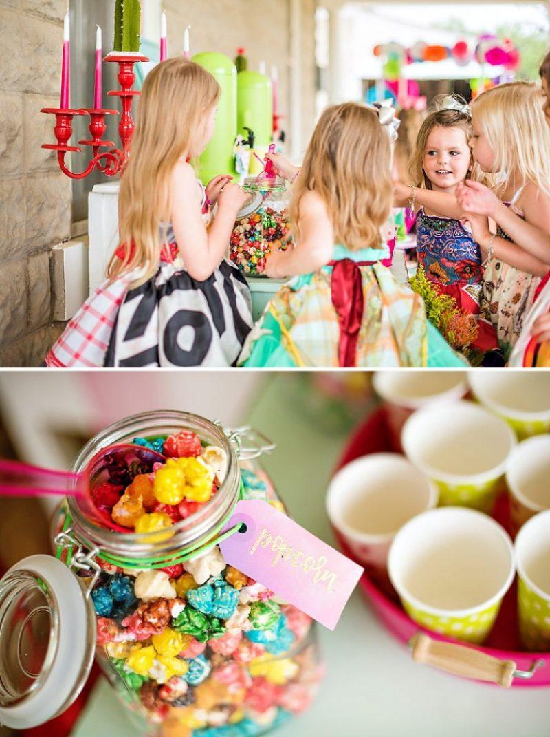 Rainbow Fiesta Popcorn
