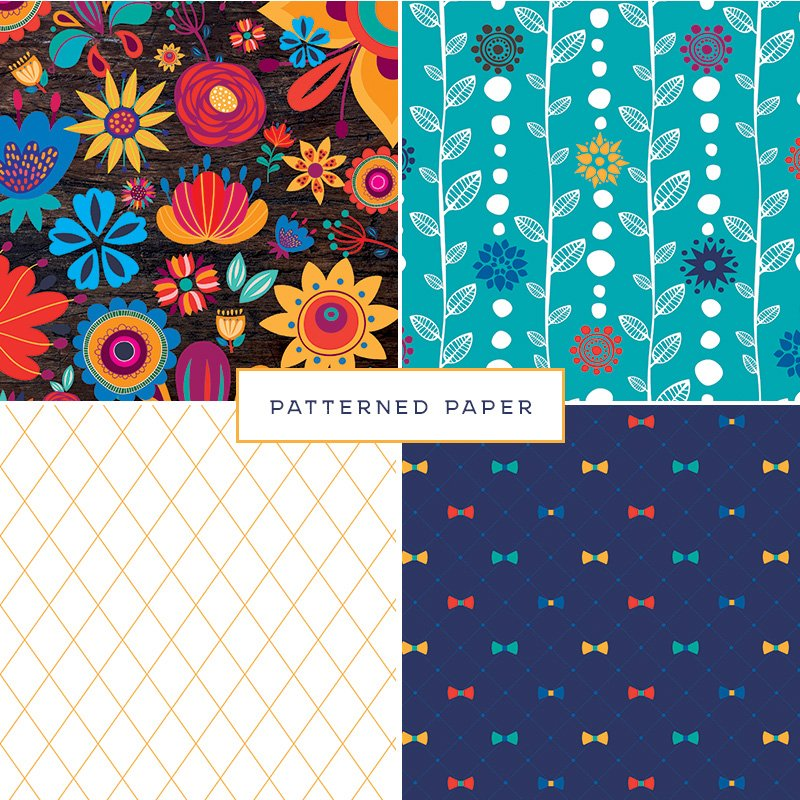 Cinco de Derby - Patterned Paper