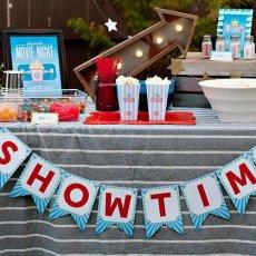 backyard movie night ideas
