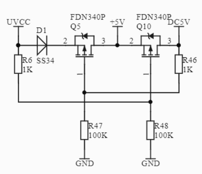 Fysetc S6 v1.2 5V Supply