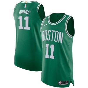 Men's Boston Celtics Kyrie Irving Nike Kelly Green Authentic Player Jersey - Icon Edition