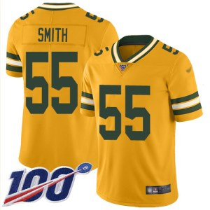 Nike Packers #55 Za'Darius Smith Gold Men's Stitch wholesale official jerseys China