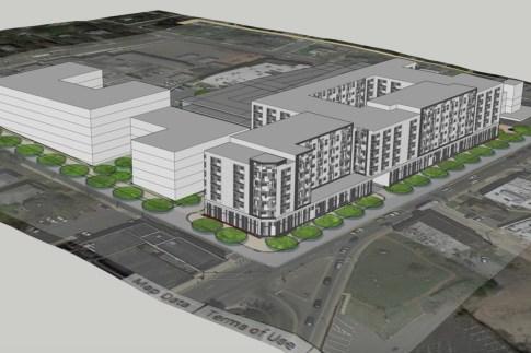 Hyattsville apartments housing Rail Yard Apartments Arts District Route 1