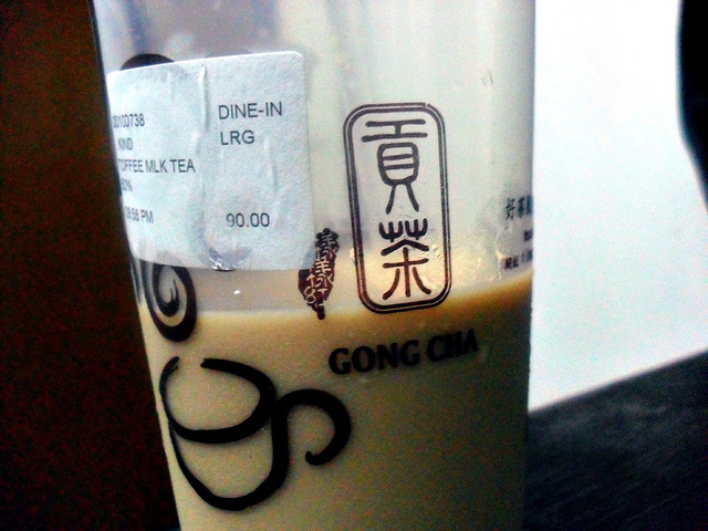 Gong Cha College Park Terrapin Row