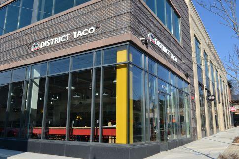 District Taco Riverdale Park Mexican restaurant