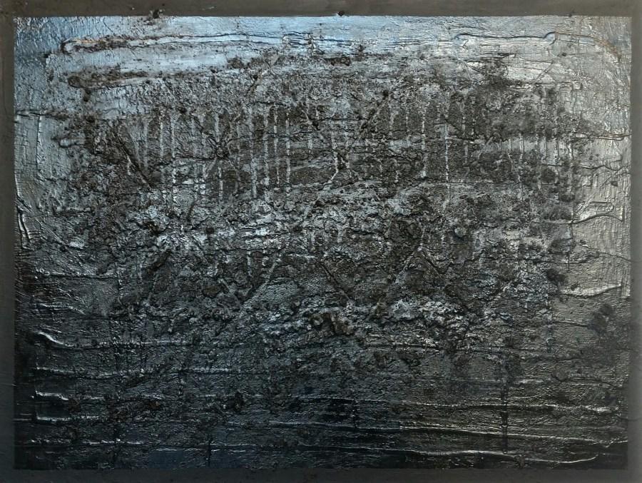 "Wayson R. Jones ""Fences"" painting Mount Rainier Maryland artist painting"