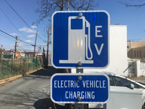 Hyattsville electric car charging station