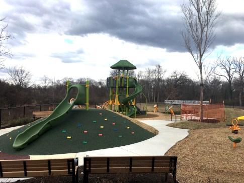 Riverdale Park Station playground