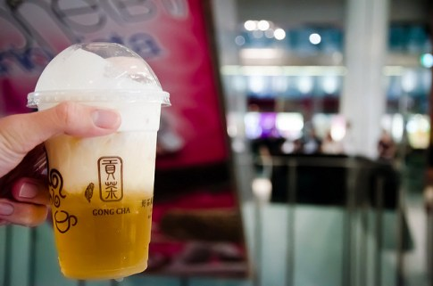 Gong Cha bubble tea College Park Maryland