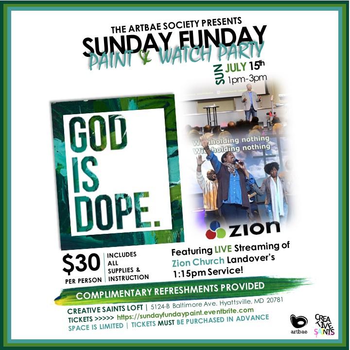 Sunday Funday Sip Paint