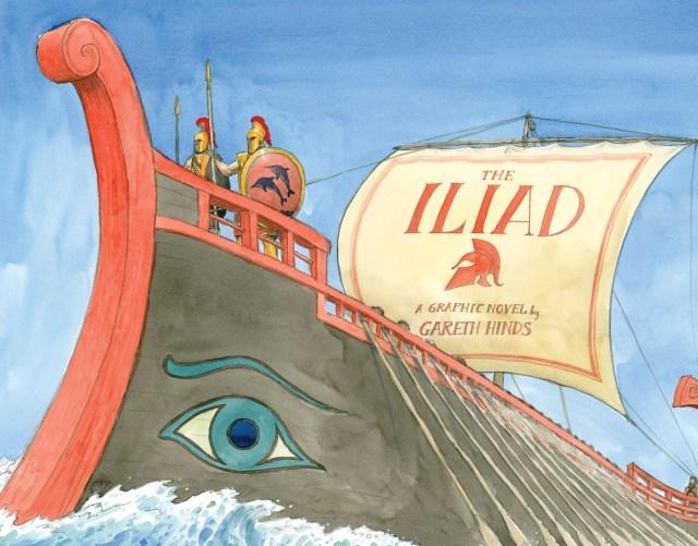 Gareth Hinds Iliad Homer illustration