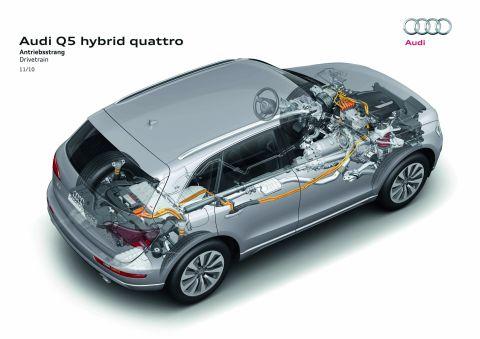 Audi Q5 Hybrid Quattro 2010