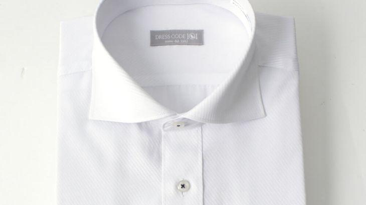 ワイシャツの襟型|ホリゾンタル(カッタウェイ)カラーとは?