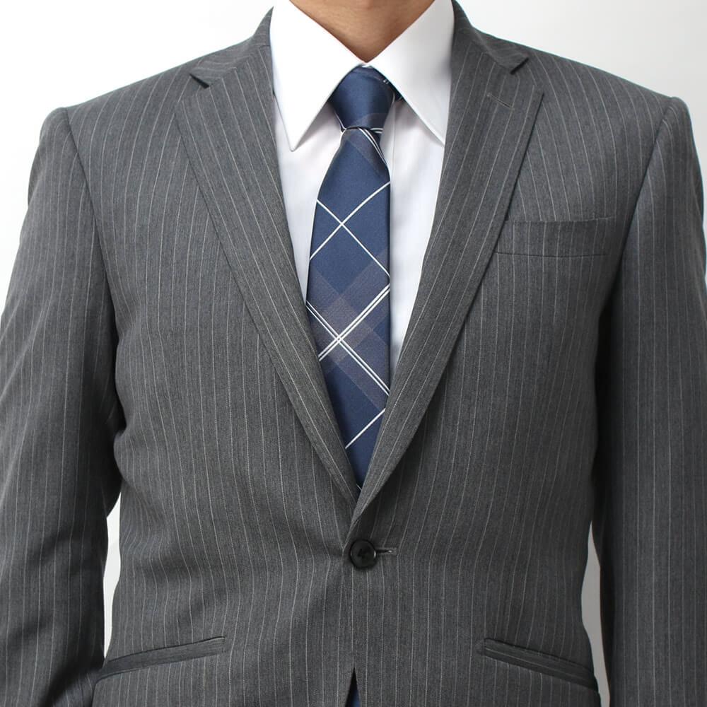 ネクタイ 成人式 グレースーツ