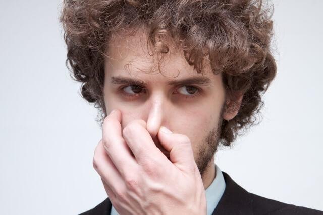 男性 鼻 鼻毛 隠す