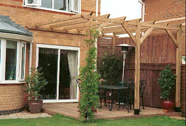 Build Plans Pergola Ideas Uk Wooden mission style bed ... on Patio Cover Ideas Uk id=66727